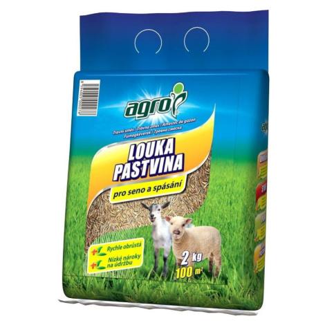 Travní směs Agro louka a pastvina 2 kg BAUMAX