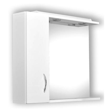 HOPA Zrcadlo HELIOS Rozměr A 65 cm, Rozměr B 13 cm, Rozměr C 60 cm, Směr zavírání Pravé (DX) OLN