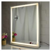 Stolní zrcadlo make-up Miraline 70 x 57 cm | stříbrná