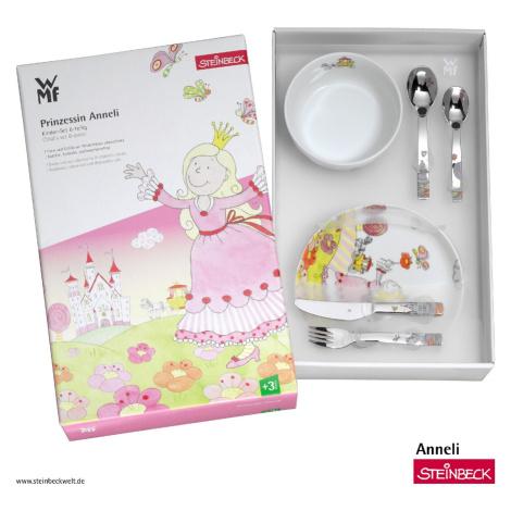 Dětský jídelní set 6dílný Princezna Anneli WMF