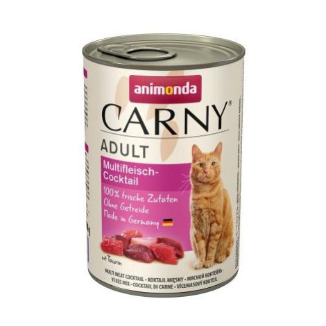 Animonda Carny Adult 12 x 400 g - míchané balení II : kreace s hovězím & drůbežím