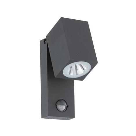 Eglo 96287 - LED venKovní nástěnné svítidlo s čidlem SAKEDA LED/5W/230V IP44