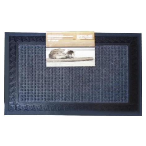 Rohožka Greek key square grey 40x60 BAUMAX