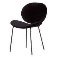 Furniria Designová židle Wilson černý samet