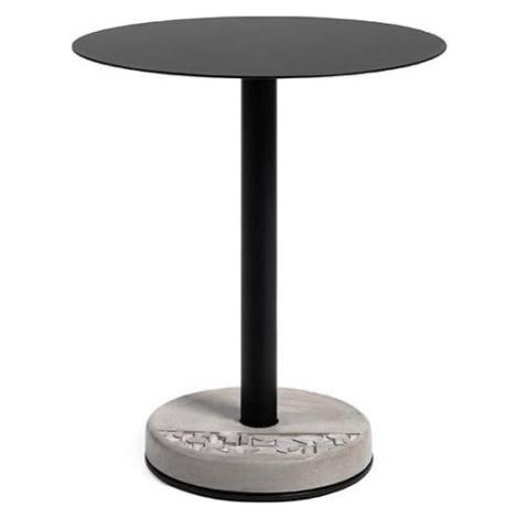 Barový stolek s betonovou základnou Lyon Béton Ronde, ø 61,8 cm Lyon Beton