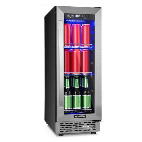 Klarstein Beerlager 56, lednička na nápoje, 56 l, 20 lahví, energetická třída A, ušlechtilá ocel