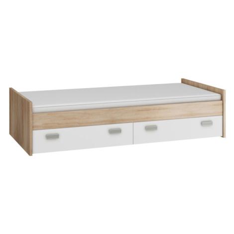 KITTY, postel nízká KIT-04 s roštem, barva: ...