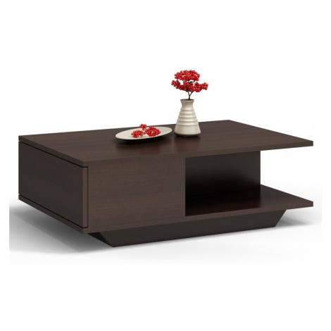 Shoptop Konferenční stolek DENVER tmavě hnědý