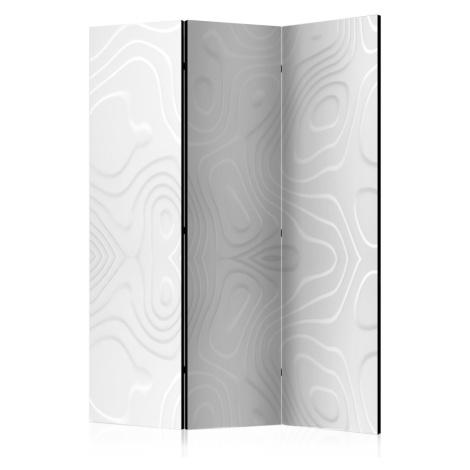 Paraván White waves Dekorhome 225x172 cm (5-dílný) Artgeist