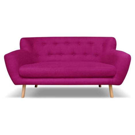 Tmavě růžová pohovka Cosmopolitan design London, 162 cm