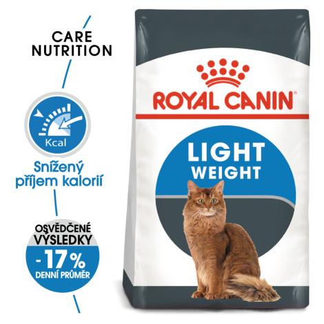 Royal Canin cat Light Weight Care - dietní granule pro kočky - 3kg