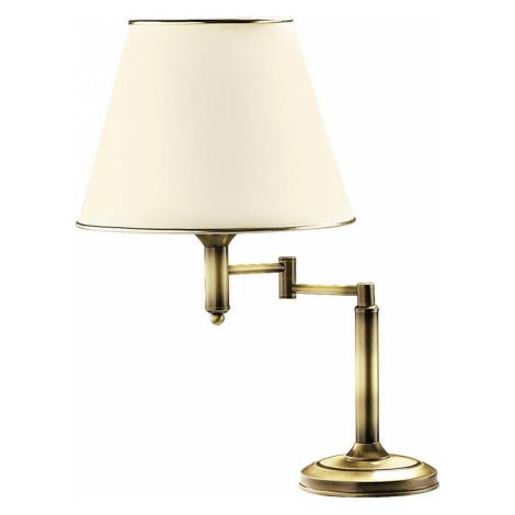EULUNA Stolní lampa Birmingham patinovaná Ø32cm s kloubem