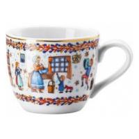 Rosenthal, porcelánový vánoční šálek na espresso s podšálkem Vánoční pečení | 80 ml
