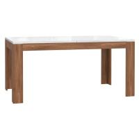Stůl Saint Tropez 160-207cm Dub Sangallo/Bílý