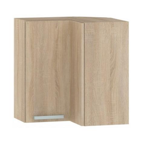 Horní rohová kuchyňská skříňka One EH65RL, dub sonoma, šířka 65 cm ASKO - NÁBYTEK
