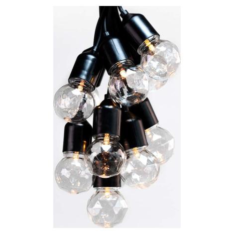 LED světelný řetěz DecoKing Indrustrial Bulb, 10 světýlek, délka 8 m