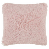Polštář Ozdobný Fluffy, 45/45 Cm, Růžová