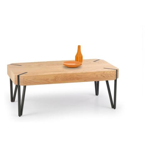 Halmar EMILY c.table, color: golden oak / black