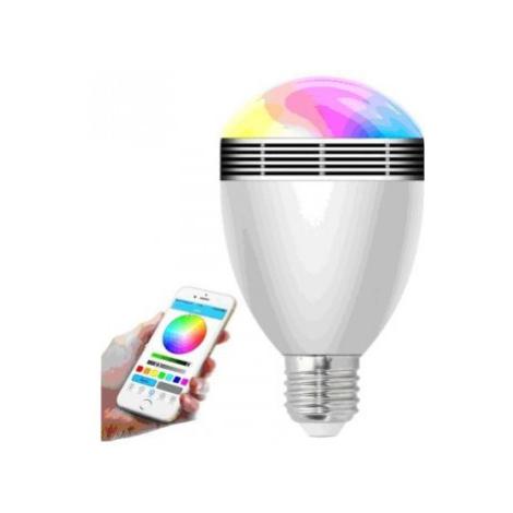 LED žárovky smart bluetooth žárovka x-site bl-06g + 2 barevné led žárovky pou SOVIO
