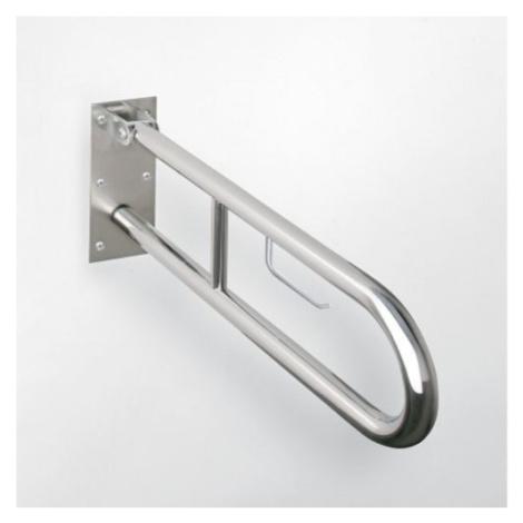 BEMETA HELP sklopné madlo ve tvaru U s držákem na TP 813mm brus 301102282
