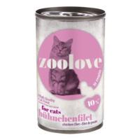 Úsporné balení Zoolove konzerva 24 x 140 g - míchané balení