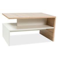 Konferenční stolek LAIT dub sonoma/bílá