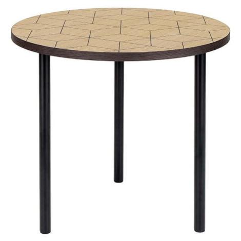 Kulatý odkládací stolek Woodman Arty Triangle 50