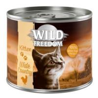 Wild Freedom Kitten - 6 x 200 g míchané balení (2 druhy)