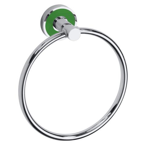 Držák ručníků Bemeta TREND-I chrom, zelená 104104068A