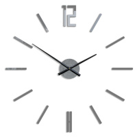 Moderní nástěnné hodiny CARLO GRAY HMCNH057-gray