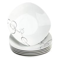 Mäser 6dílná sada hlubokých talířů Chanson, 21,5 cm