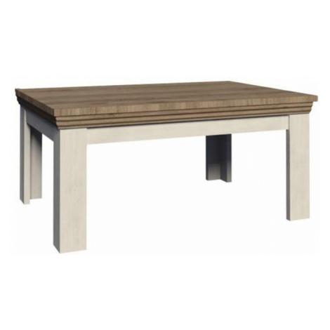 Konferenční stolek malý nordická bílá borovice ROYAL LN Tempo Kondela