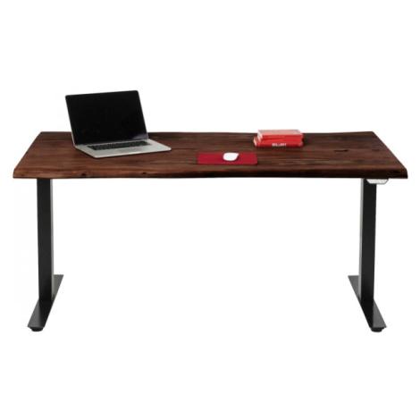 Výškově nastavitelný stůl Harmony - tmavý, 160x80cm Kare Design