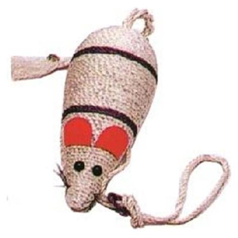 Škrabadlo myš sisal 31cm BAUMAX