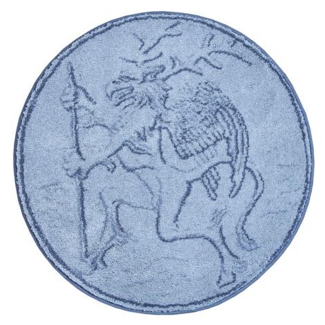RÝBRCOUL - Kruhová předložka ø 80 cm, šedá Grund