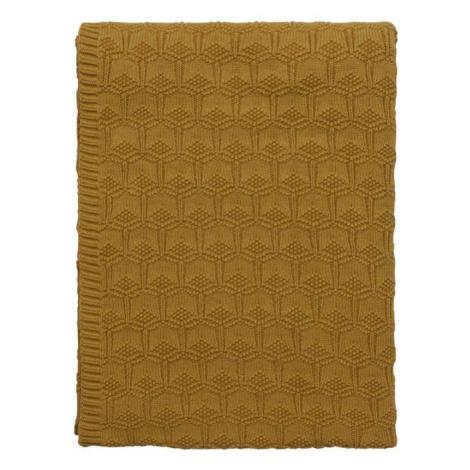 Sodahl, Pléd pletený 130x170 Golden | Zlatý Södahl