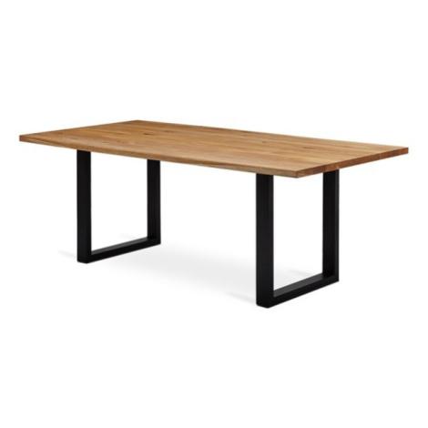 Sconto Jídelní stůl VANCOUVER dub/černá