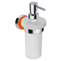 Dávkovač mýdla Bemeta TREND-I chrom, oranžová 104109018G