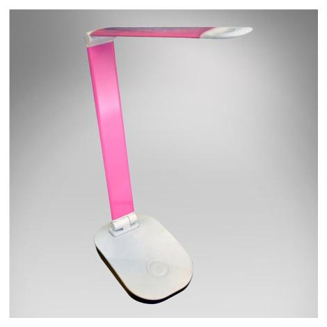 Stolní lampa 1602 růžová BAUMAX