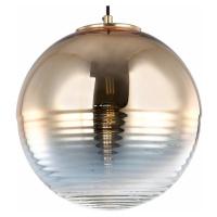 Viokef Závěsné světlo Shine se zrcadlovým sklem ve zlatě