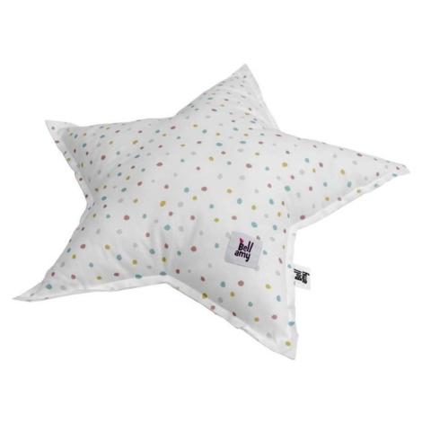 Dětský bavlněný polštář ve tvaru hvězdy BELLAMY In the woods