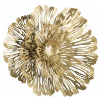 Nástěnná dekorace ve zlaté barvě Mauro Ferretti Ibis, šířka 52,5 cm