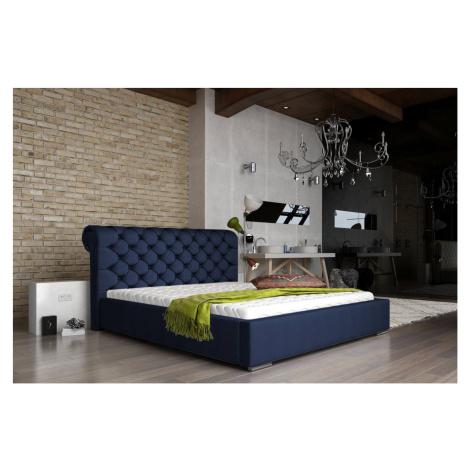 Confy Designová postel Myah 160 x 200 - 8 barevných provedení