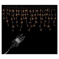 Vánoční světelný déšť - 15 m, 600 LED, teple bílý - OEM M02056