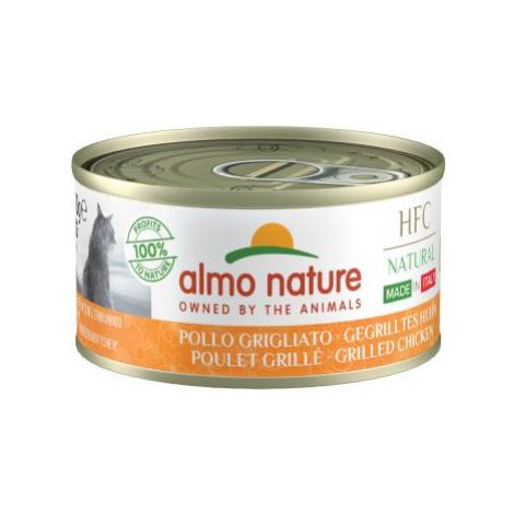 Výhodné balení Almo Nature HFC Made in Italy 24 x 70 g - tuňák žloutoploutvý Almo Nature Holistic