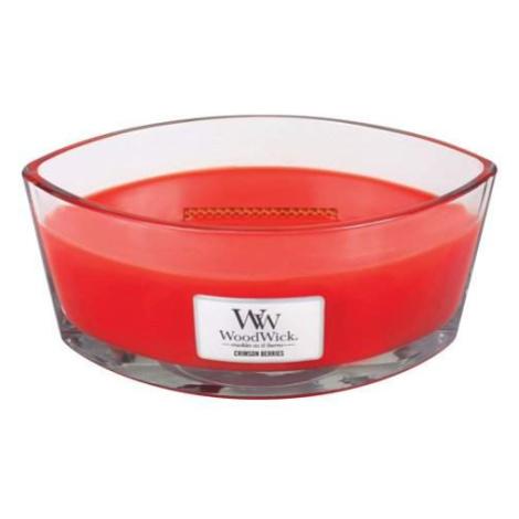 Svíčka WoodWick oválná Červená jeřabina 453,6g