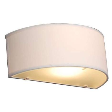 Venkovská nástěnná lampa s půlkulatým krémem - Drum QAZQA