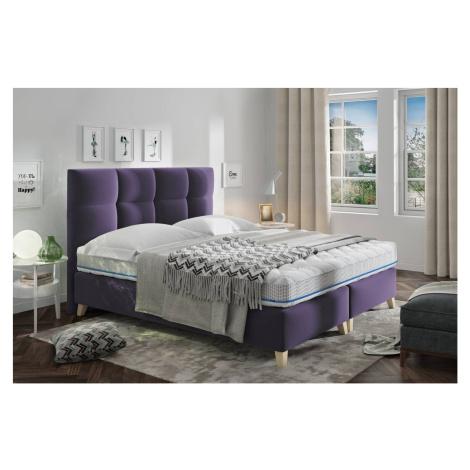 Confy Designová postel Uriah 160 x 200 - 7 barevných provedení