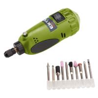 Extol Craft Bruska 404121 mini vrtačka/bruska s transformátorem v kufříku