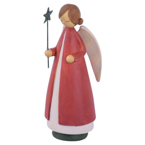Vánoční dekorace ve tvaru anděla Ego Dekor, výška 21 cm